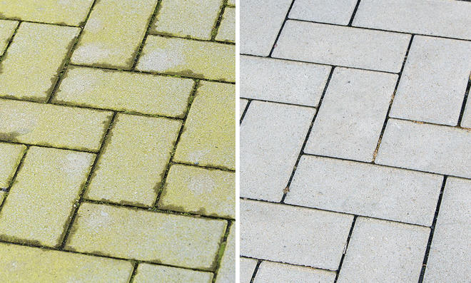 Grünspan entfernen