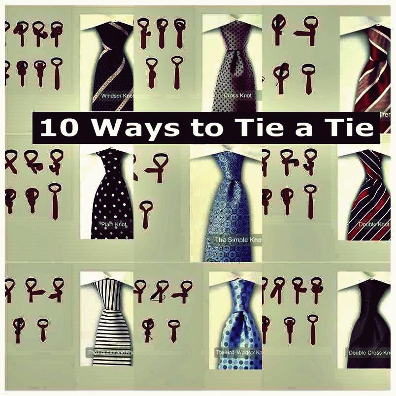 10 Möglichkeiten, Eine Krawatte Zu Binden