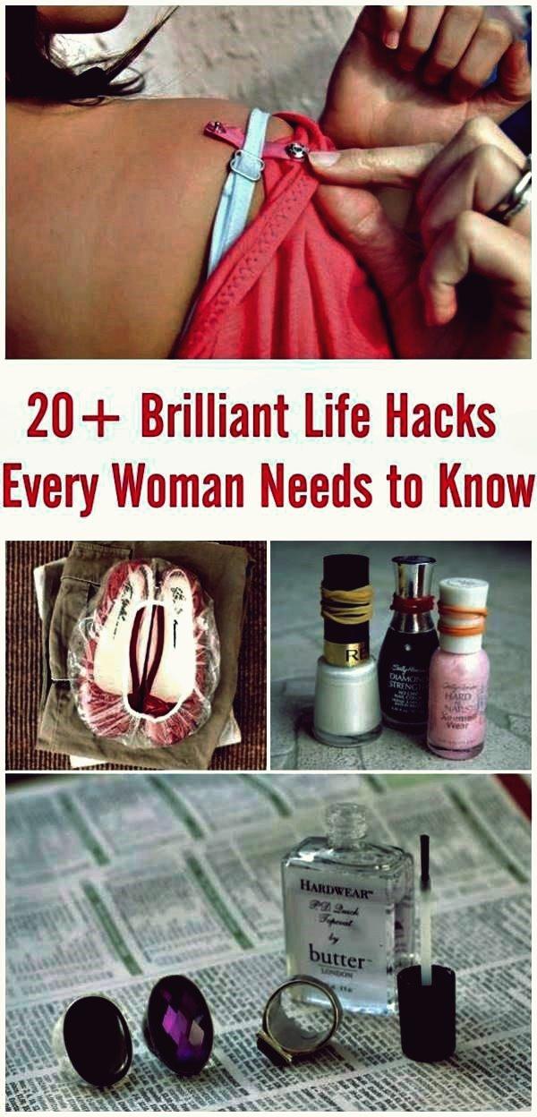 11 Life Hacks, die jede Frau kennen muss