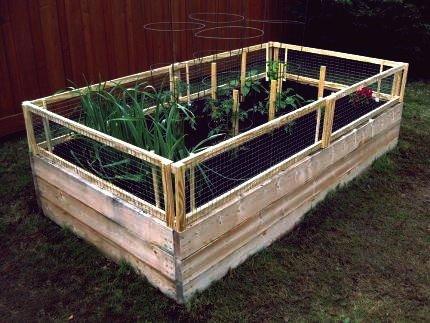 30+ kreative DIY ausgelöst Gartenbett Ideen und Projekte