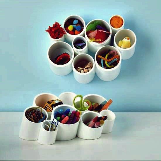 30+ kreative Verwendungen von PVC-Rohren in Ihrem Haus und Garten