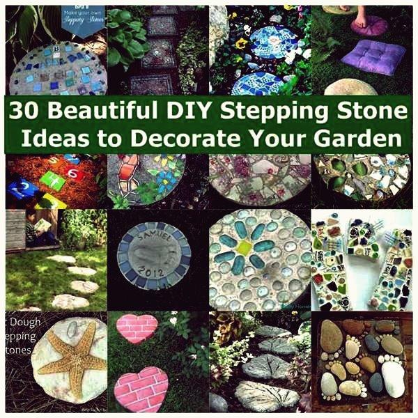 30 schöne DIY-Sprungbrett-Ideen zur Dekoration Ihres Gartens