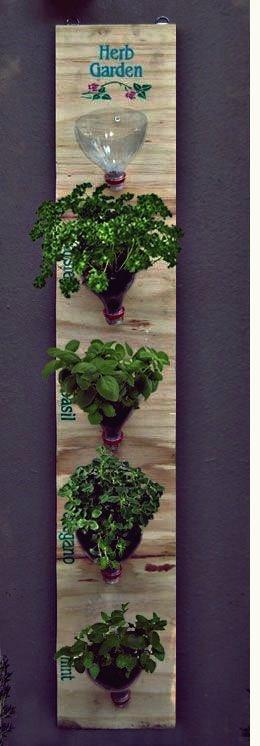 35+ Kreative DIY Kräutergarten Ideen