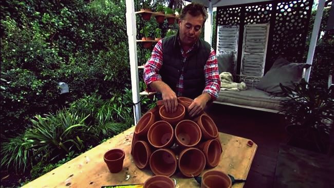 Kreative Ideen - DIY Terracotta Sphere Garden Art