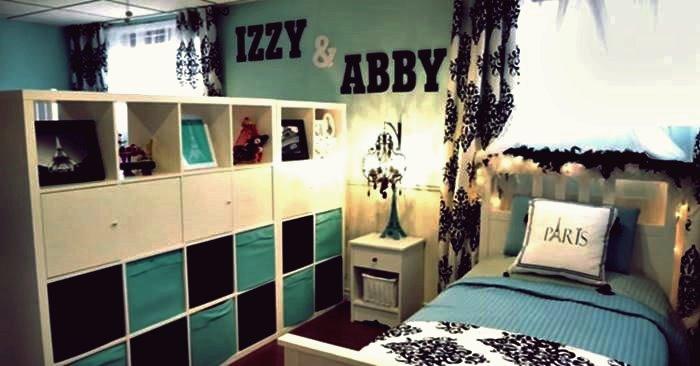 Kreative Ideen - wie man Keller in ein schönes geteiltes Schlafzimmer auf einem Etat verziert