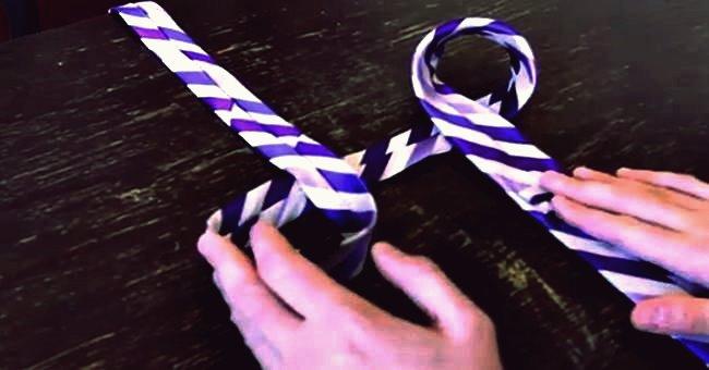 Kreative Ideen - Wie man schnell und einfach eine Krawatte bindet