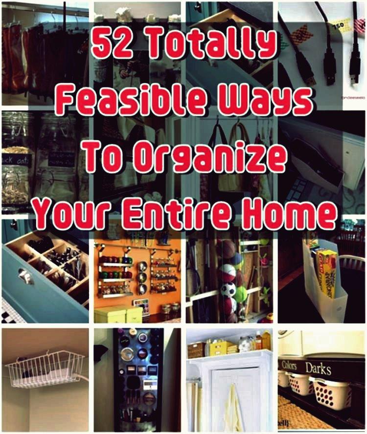 Über 50 kreative und praktikable Wege, um Ihr Zuhause zu organisieren