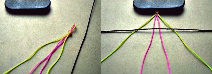 Wie DIY 6 String Geflochtenes Freundschaftsarmband zu machen