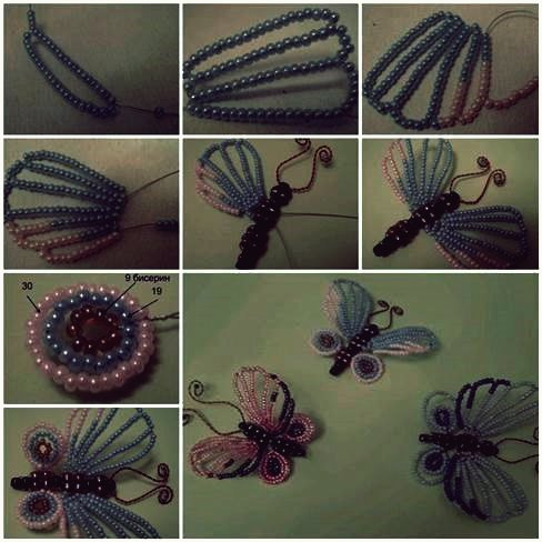 Wie DIY Pretty Silk Ribbon Butterfly