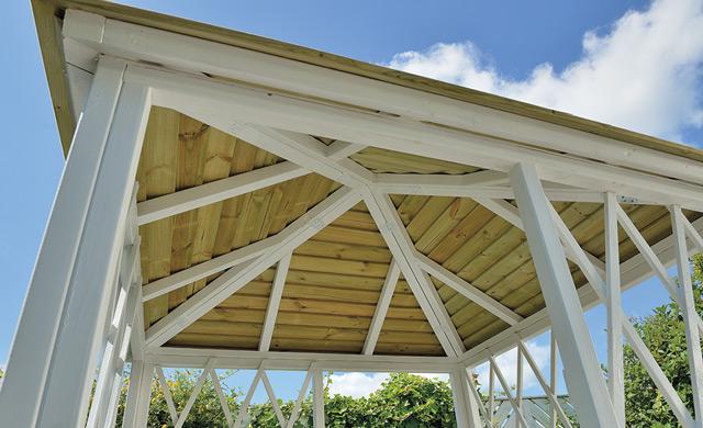Gartenpavillon-Dach
