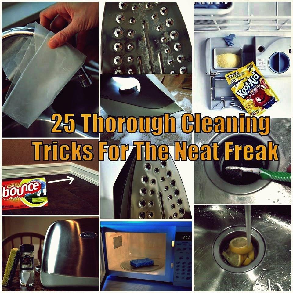 25 Tipps und Tricks zur gründlichen Reinigung für den Neat Freak