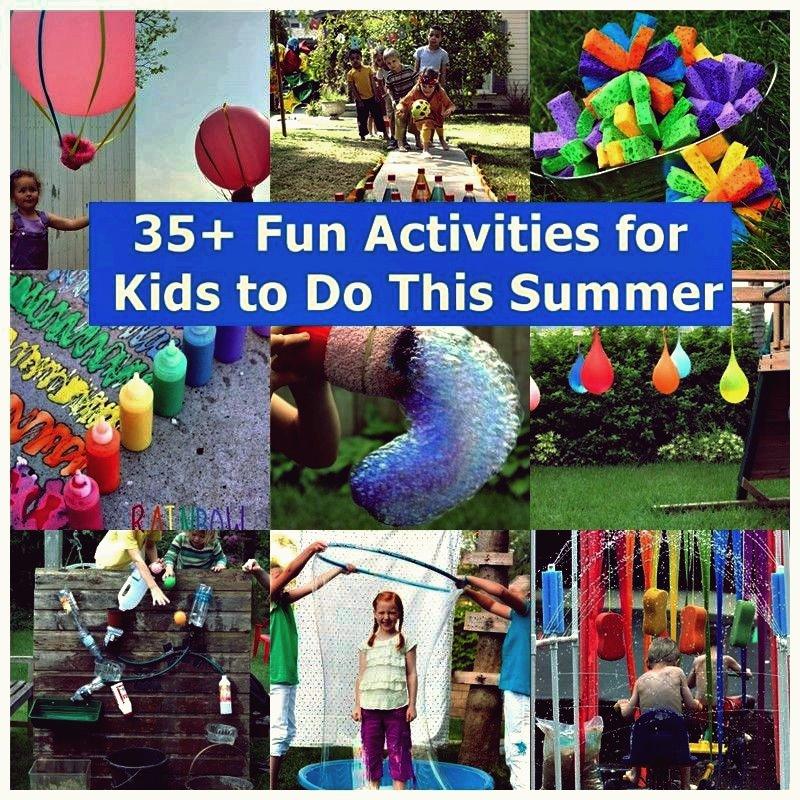 35+ lustige Aktivitäten für Kinder in diesem Sommer