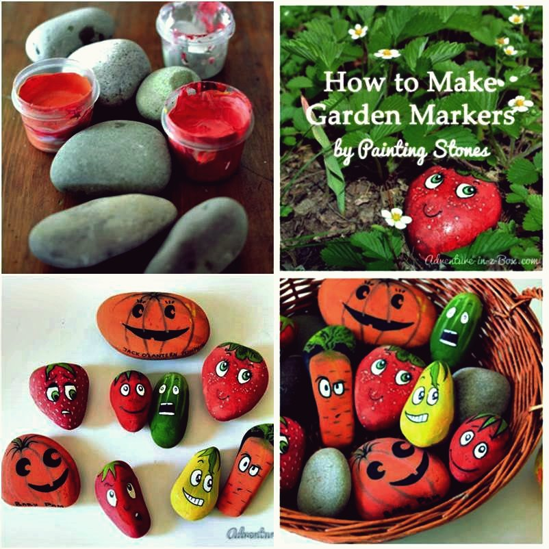 DIY Creative Garden Marker von Painting Stones