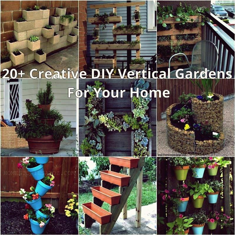 DIY einfache vertikale Pflanzer-Struktur