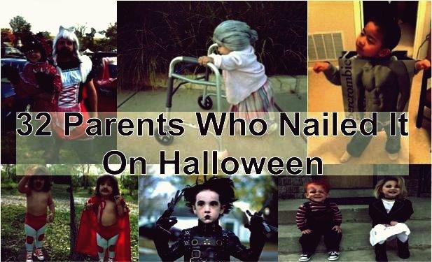 Kreative Ideen - 32 kreative Eltern, die es an Halloween genagelt haben