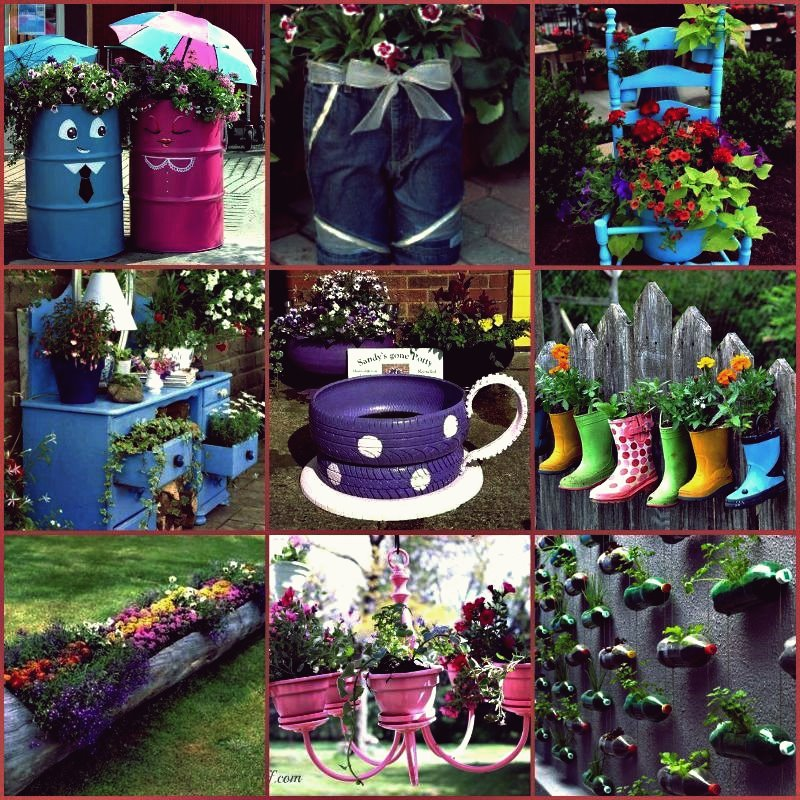 Kreative Ideen - Alte Teekanne in Gartenbrunnen verwandeln