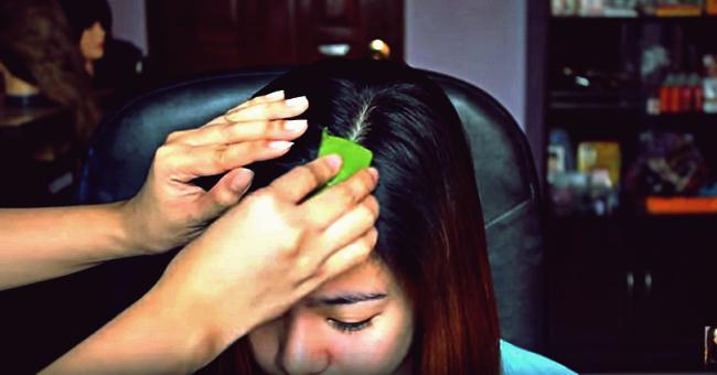 Kreative Ideen - DIY feuchtigkeitsspendende Heilmittel für trockene juckende Kopfhaut und Schuppen