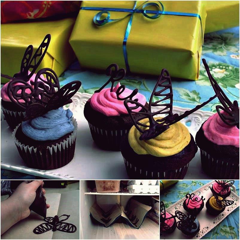 Kreative Ideen - DIY köstliche Nutella Ferrero Rocher Cupcakes