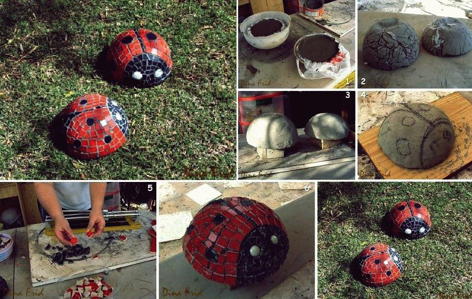 Kreative Ideen - DIY niedlichen Golfball Marienkäfer