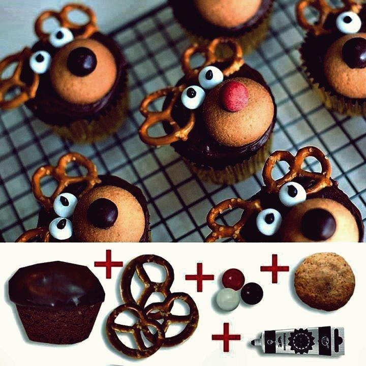 Kreative Ideen - DIY niedlichen Rentier Oreo Cookie Pops