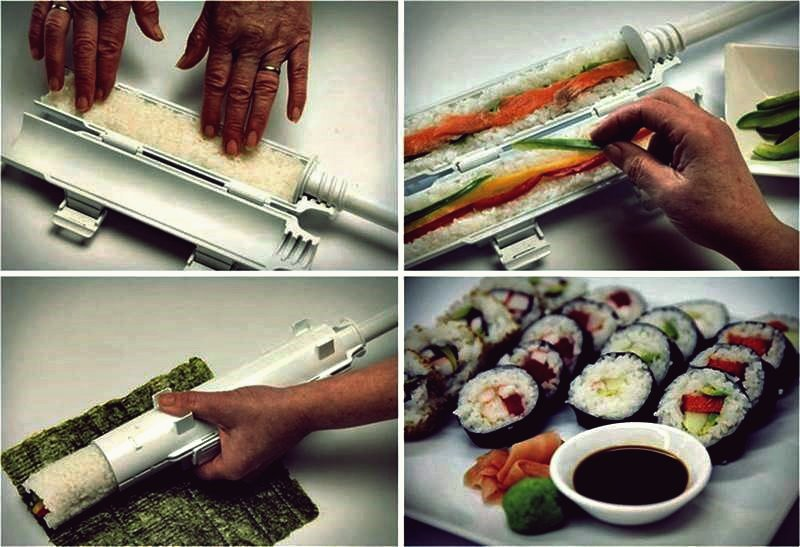 Kreative Ideen - DIY perfekte hausgemachte Sushi