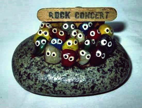 Wie DIY Adorable Rock Concert Painted Rock Art