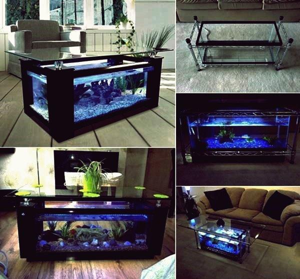 Wie DIY Aquarium Couchtisch