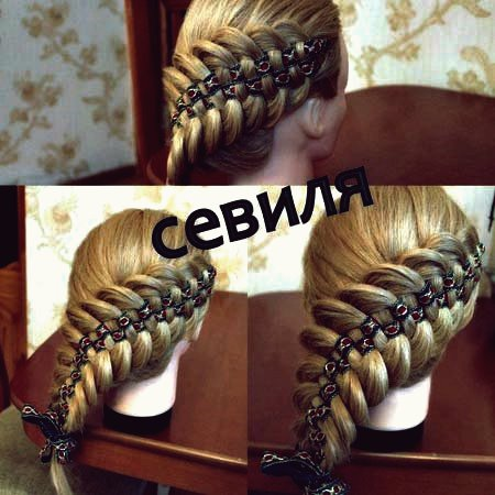 Wie DIY Checkerboard Braid Frisur mit Band
