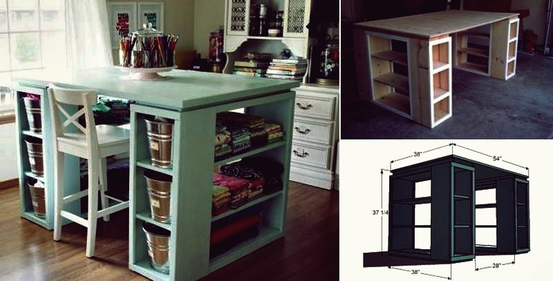 Wie DIY Creative Rolling End Table