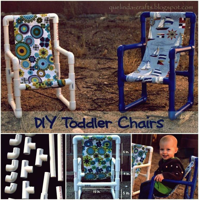 Wie DIY PVC Pipe Kleinkind Stühle