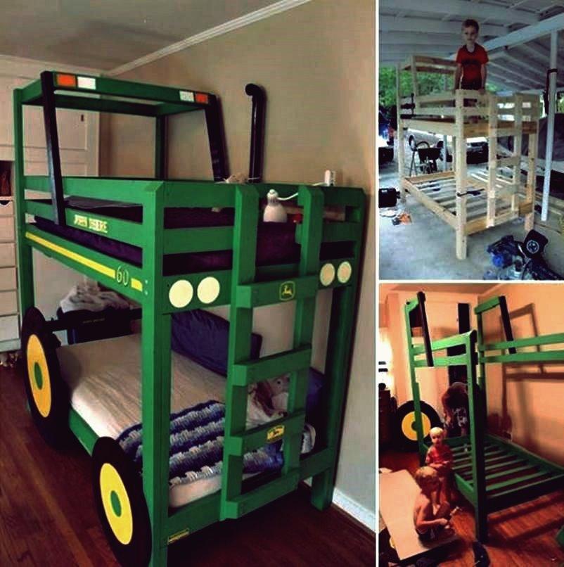 Wie DIY Traktor Etagenbett