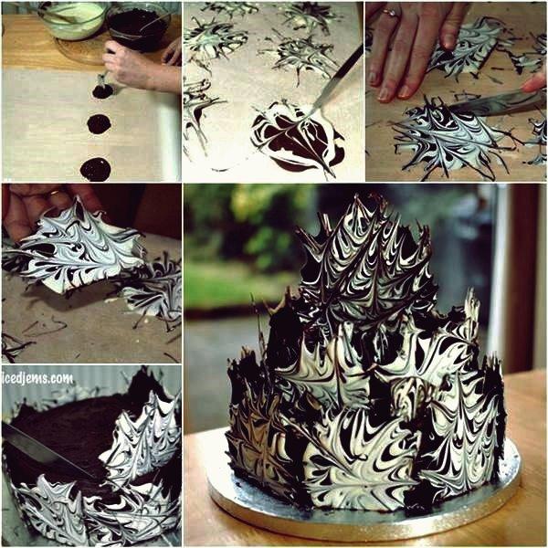 Wie erstelle ich Amazing Water Marble Nail Art DIY Tutorial