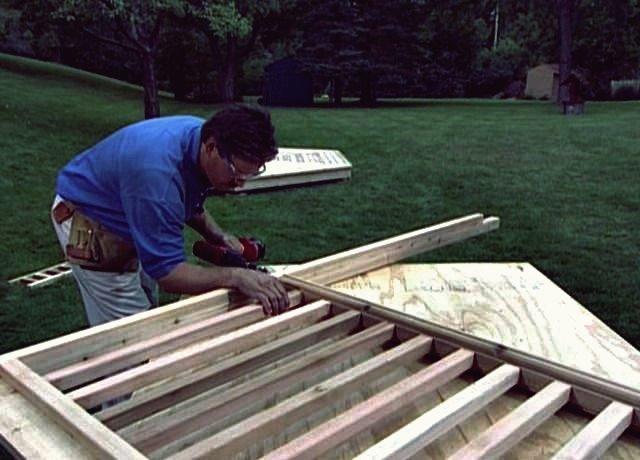 Wie man eine Holzpergola baut