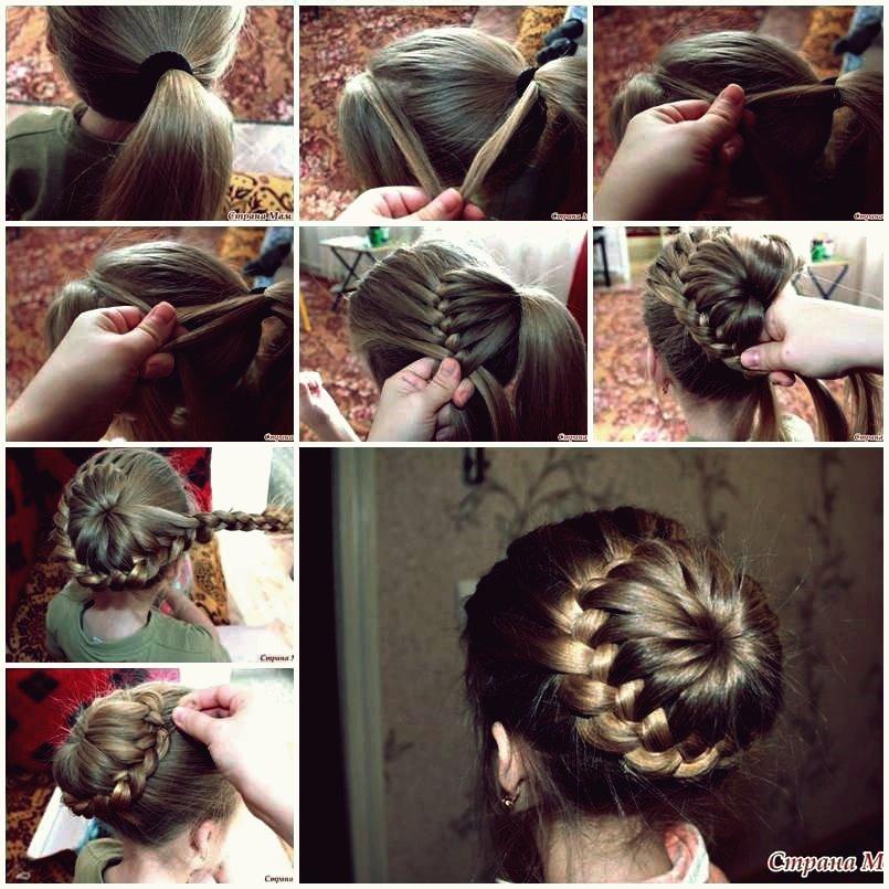 Wie man nette Frisur für Mädchen DIY Tutorial macht